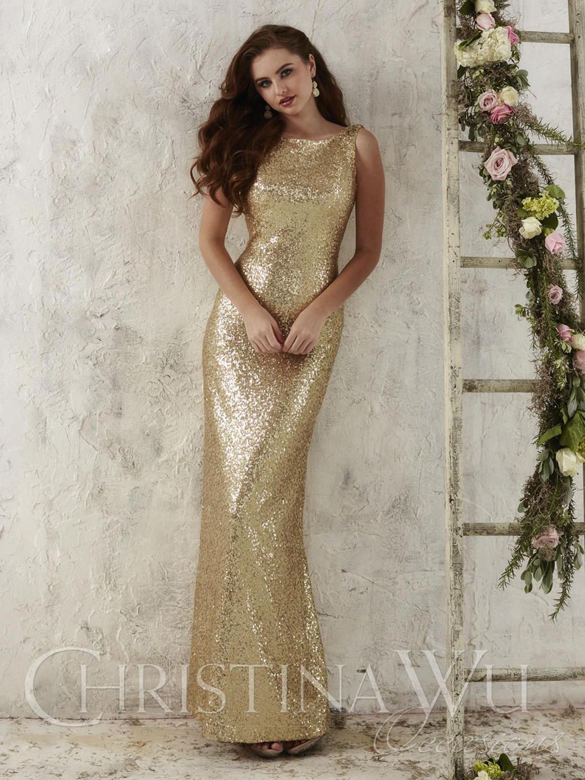 22704 Bridesmaids Dress by Christina Wu
