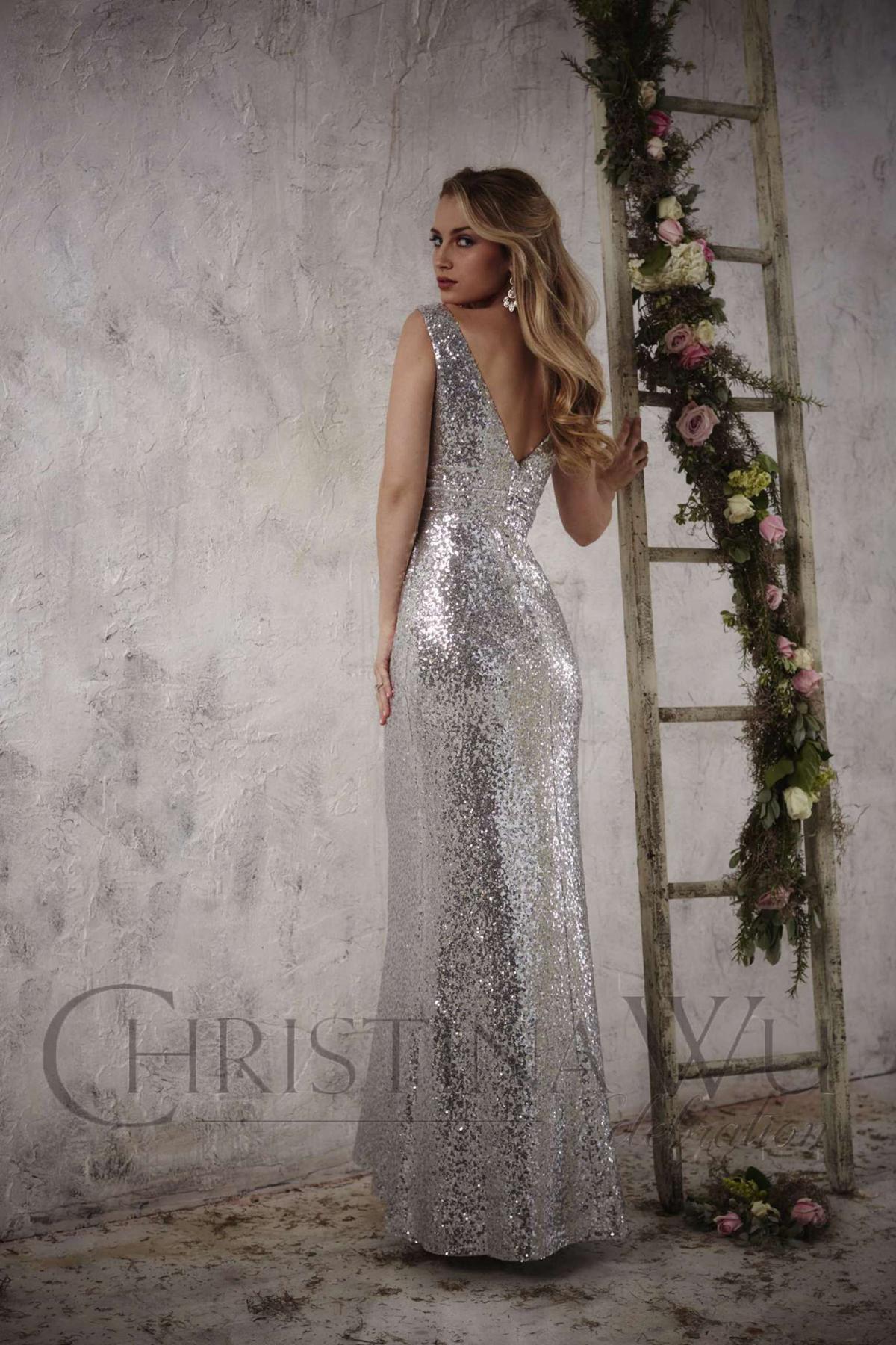 22708 Bridesmaids Dress by Christina Wu