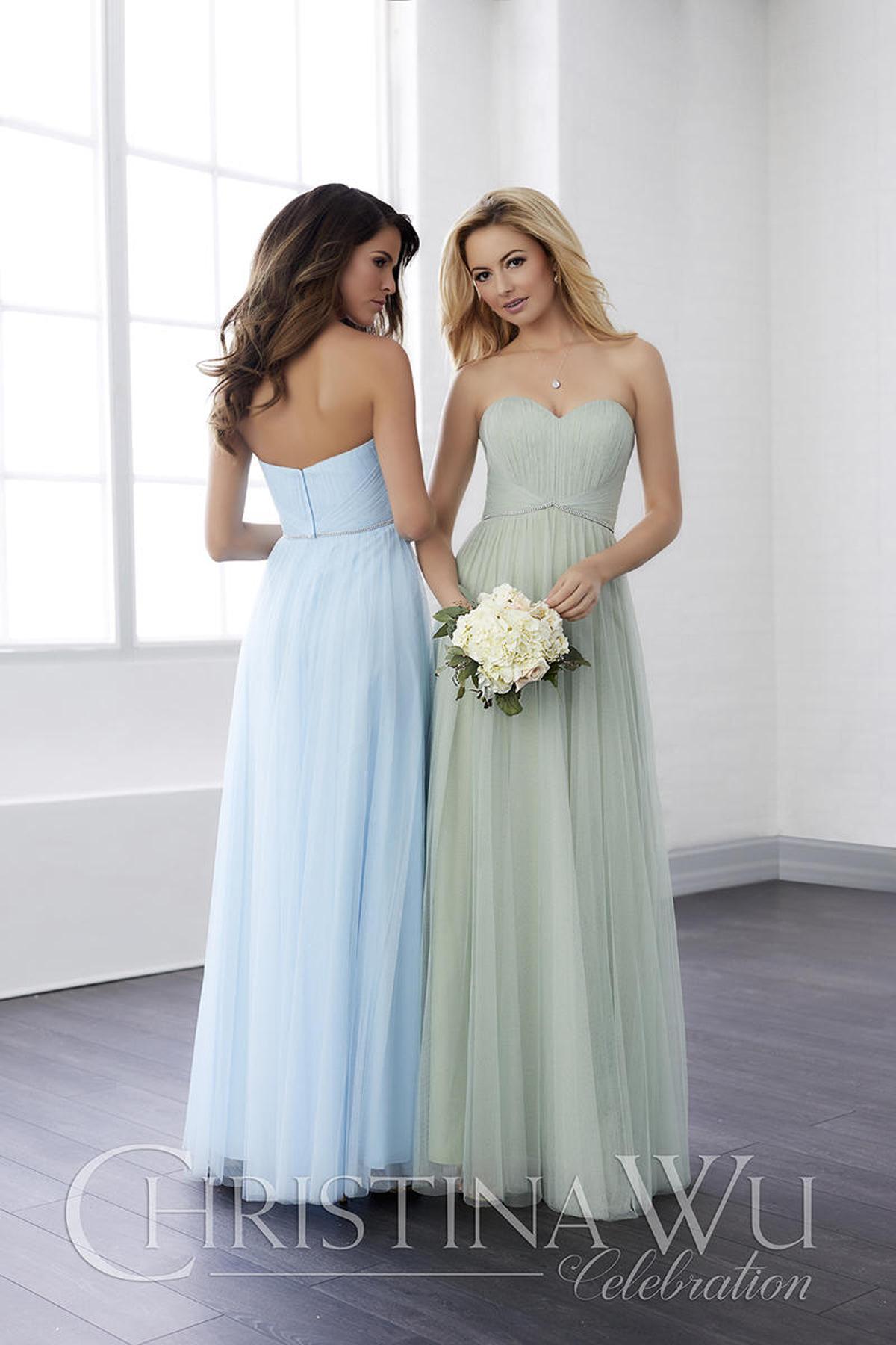 22821 Bridesmaids Dress by Christina Wu